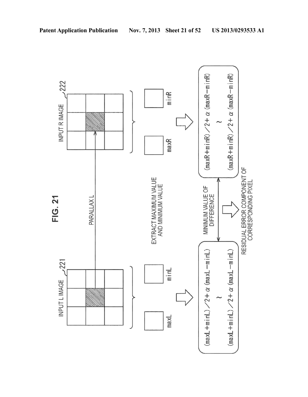 IMAGE PROCESSING APPARATUS AND IMAGE PROCESSING METHOD - diagram, schematic, and image 22