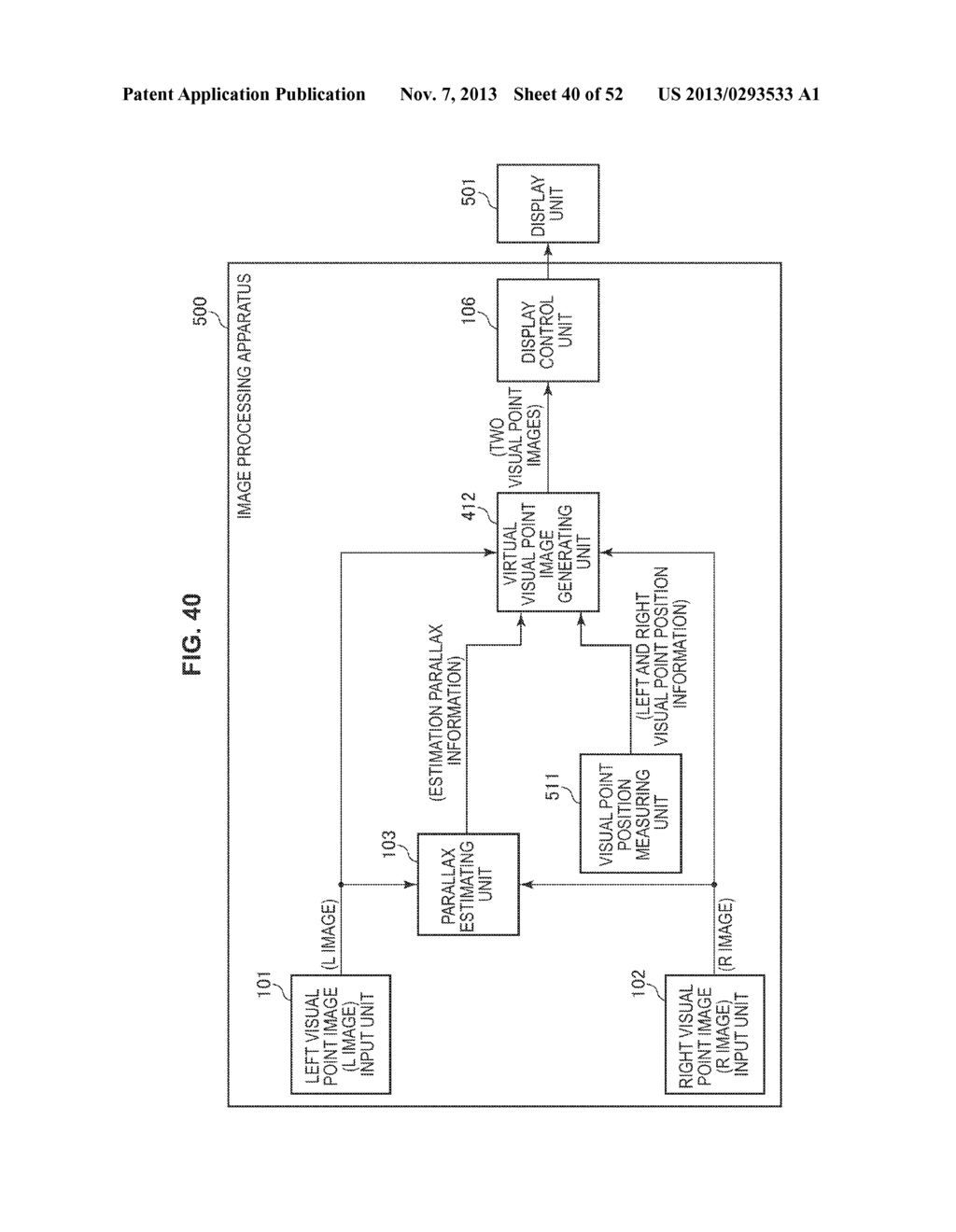IMAGE PROCESSING APPARATUS AND IMAGE PROCESSING METHOD - diagram, schematic, and image 41