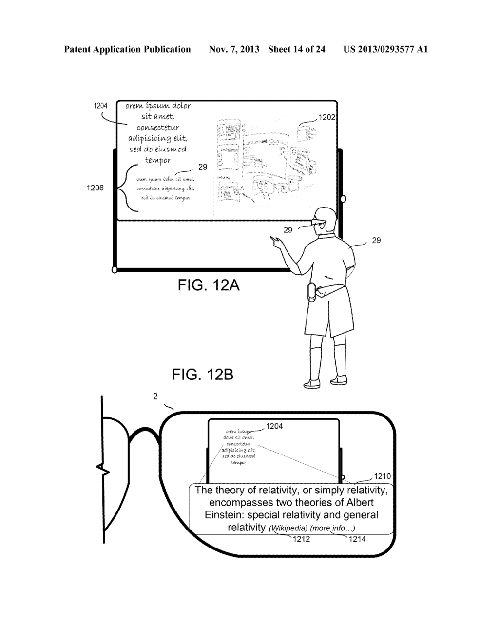 INTELLIGENT TRANSLATIONS IN PERSONAL SEE THROUGH DISPLAY - diagram, schematic, and image 15