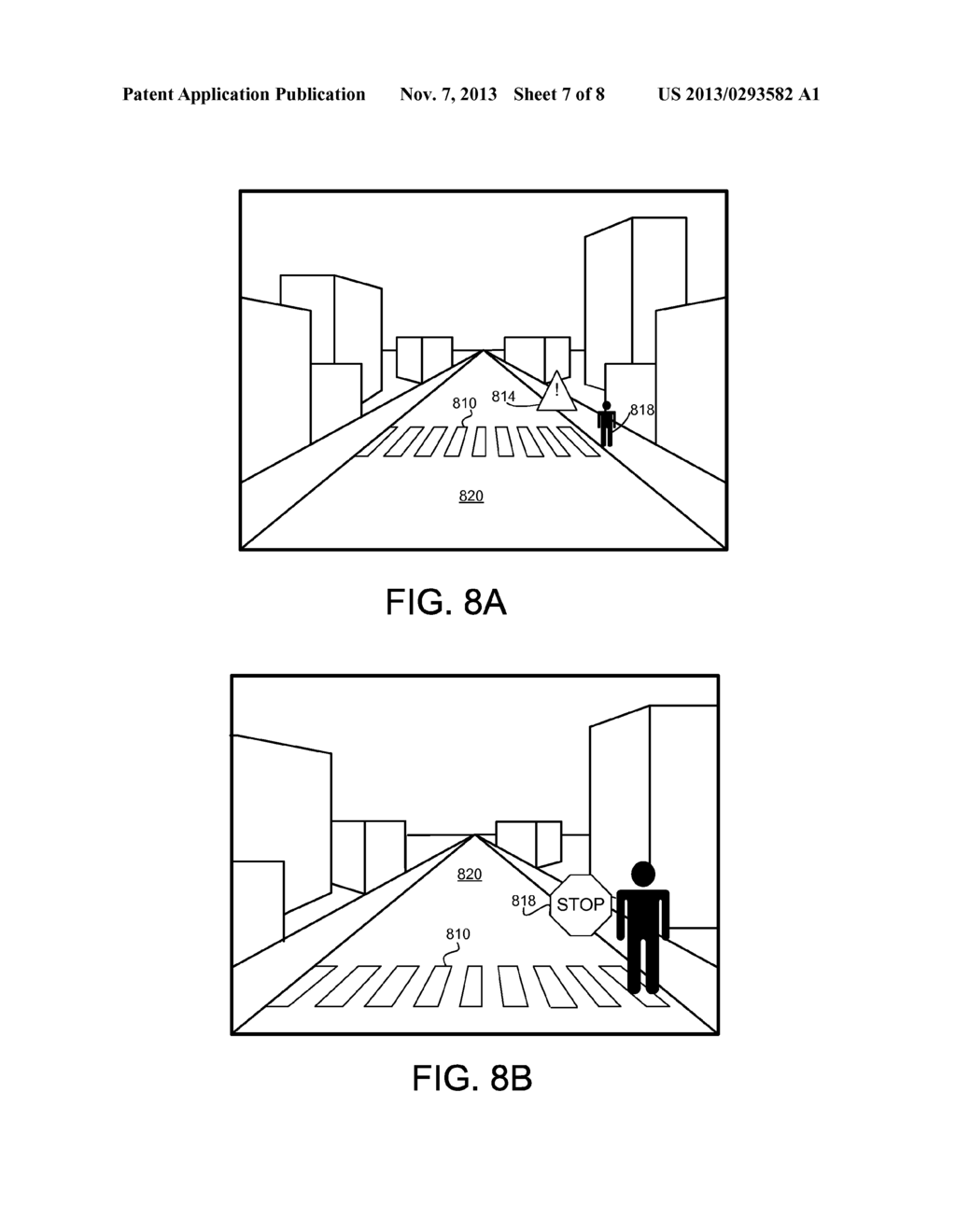 METHOD TO GENERATE VIRTUAL DISPLAY SURFACES FROM VIDEO IMAGERY OF ROAD     BASED SCENERY - diagram, schematic, and image 08