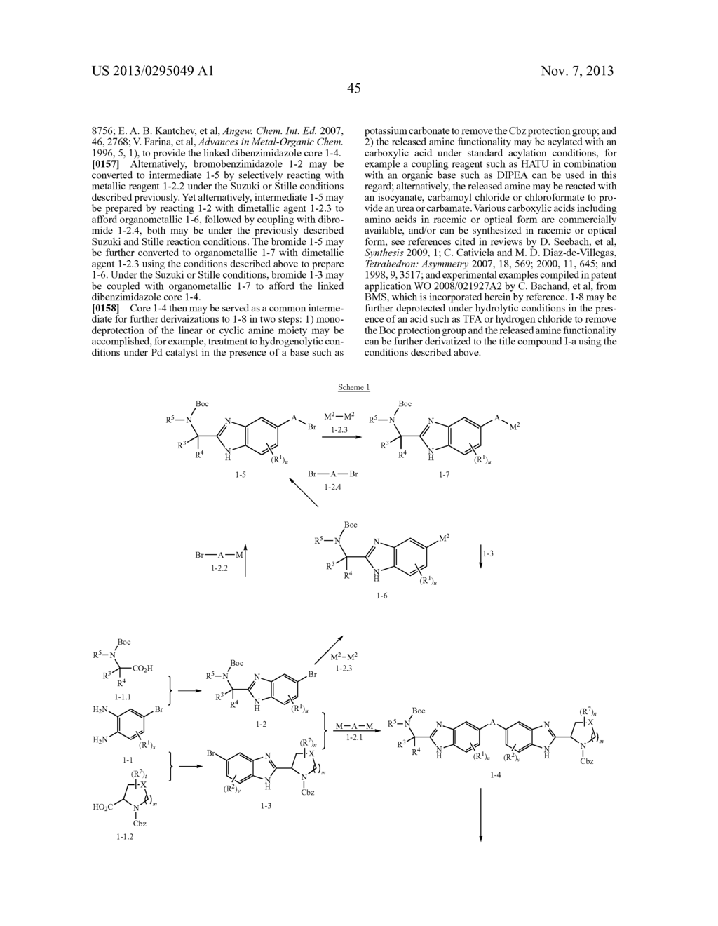 LINKED DIBENZIMIDAZOLE ANTIVIRALS - diagram, schematic, and image 46