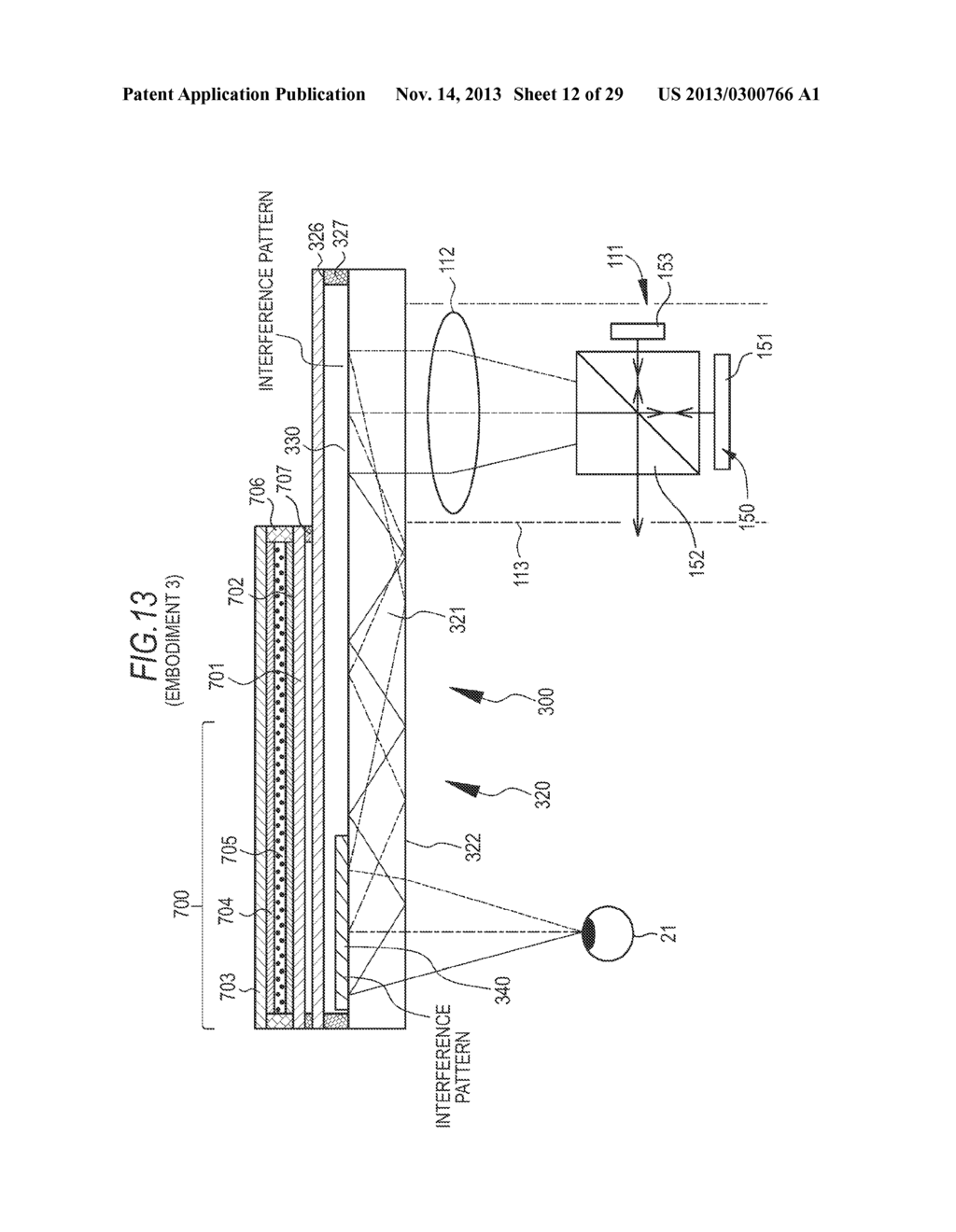 DISPLAY INSTRUMENT AND IMAGE DISPLAY METHOD - diagram, schematic, and image 13
