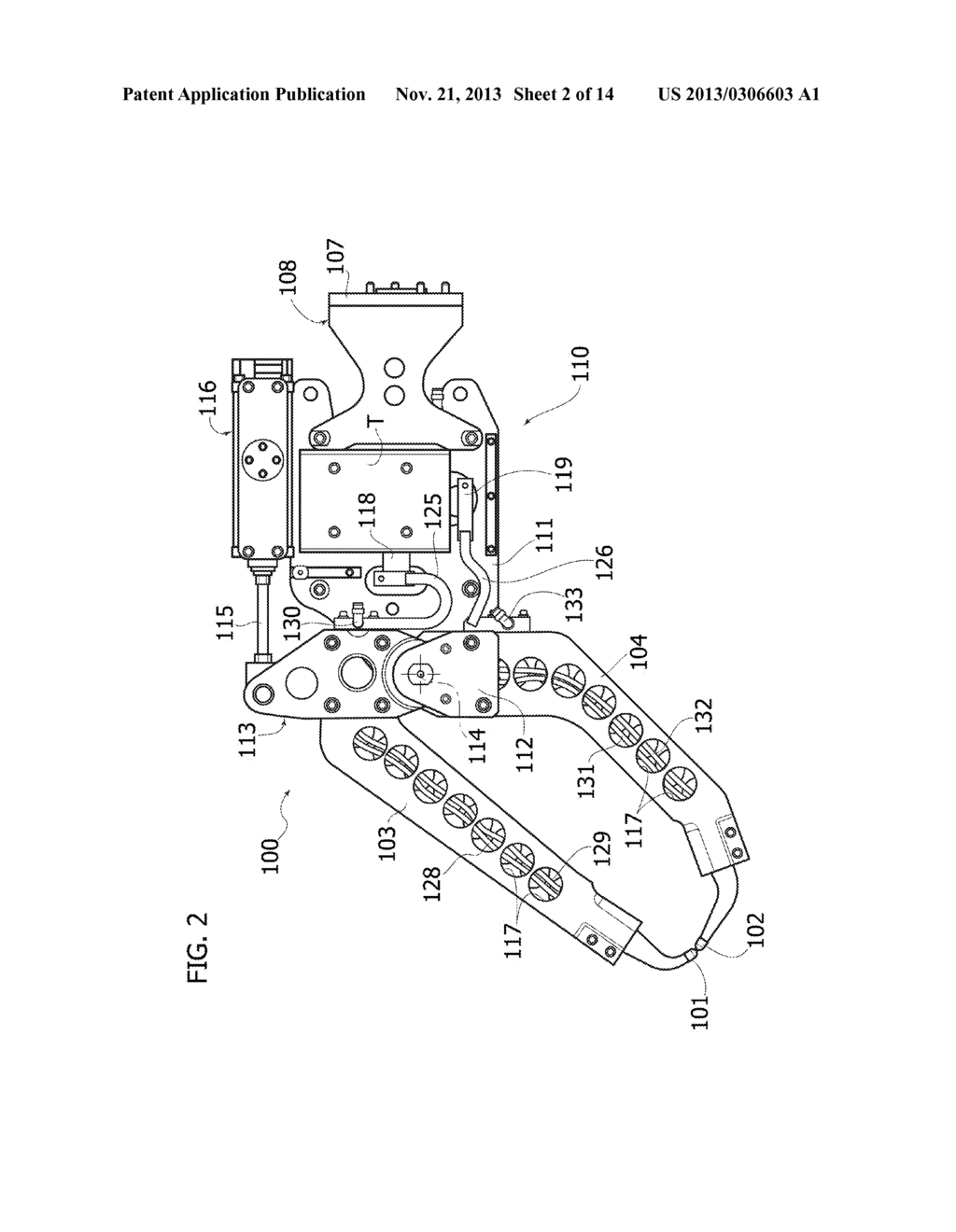 Electric Spot Welding Head For A Multi-Axis Industrial Robot, and Robot  Comprising This Head - diagram, schematic, and image 03