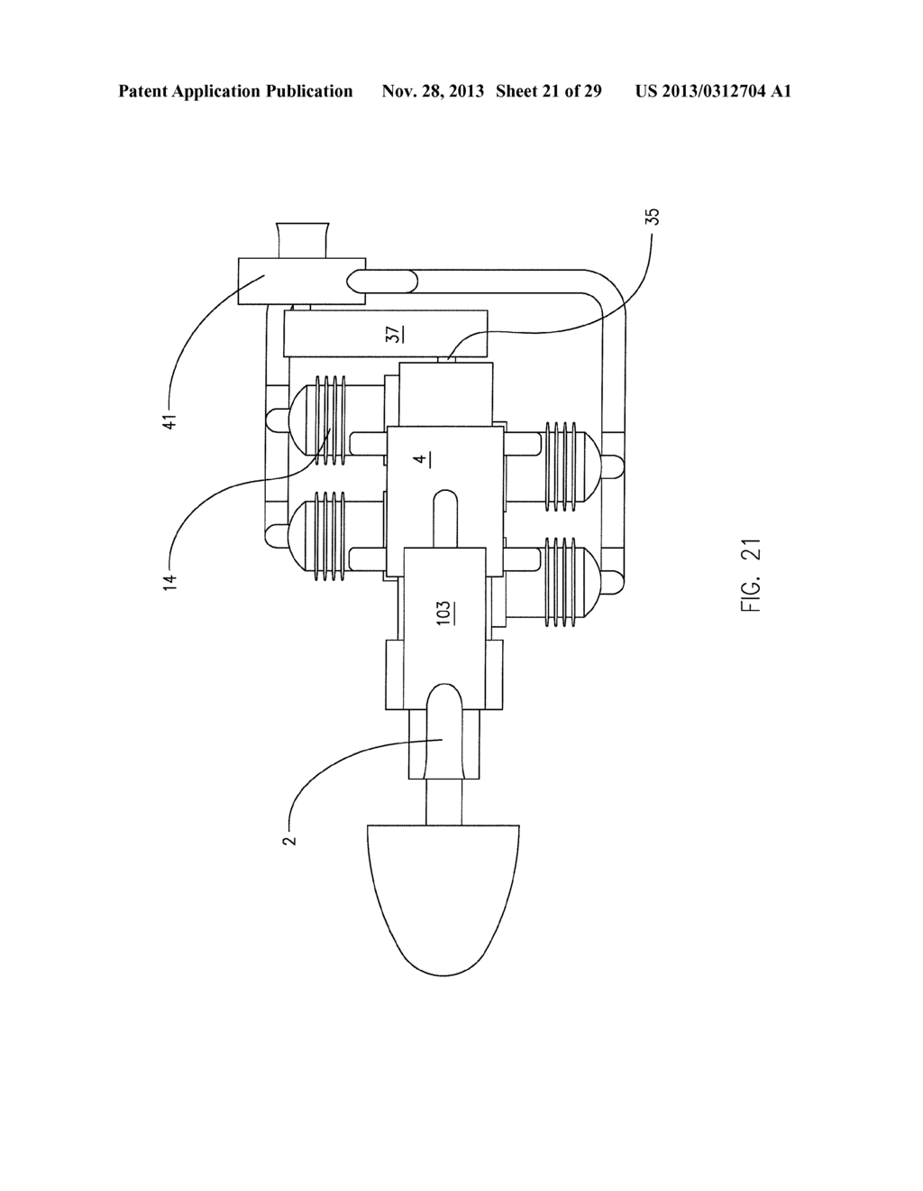 Two Stroke Uniflow Turbo Compound Internal Combustion Engine Diagram Schematic And Image 22