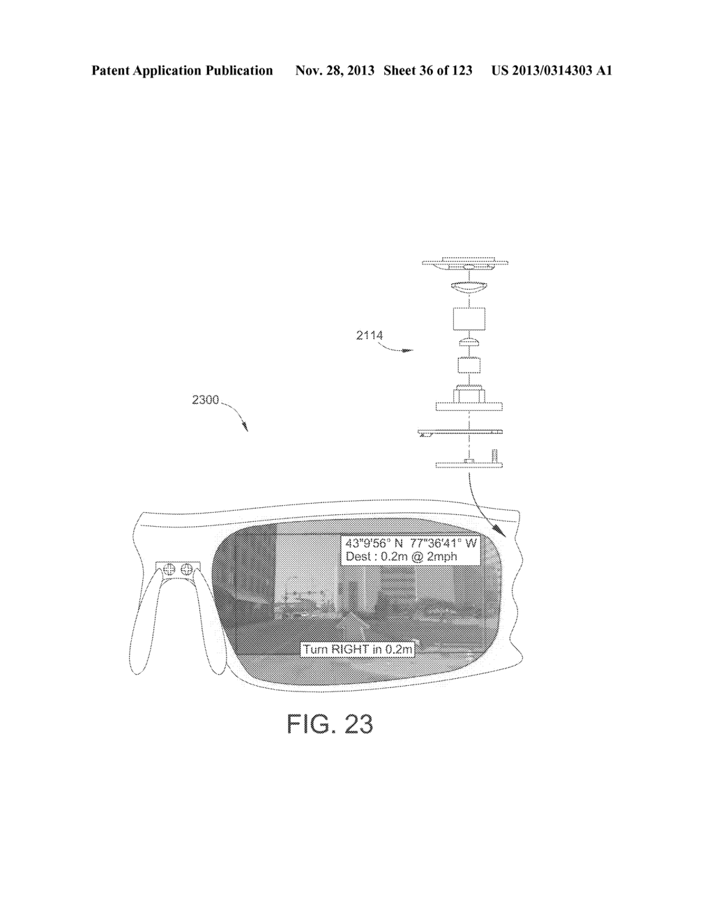 AR GLASSES WITH USER ACTION CONTROL OF AND BETWEEN INTERNAL AND EXTERNAL     APPLICATIONS WITH FEEDBACK - diagram, schematic, and image 37