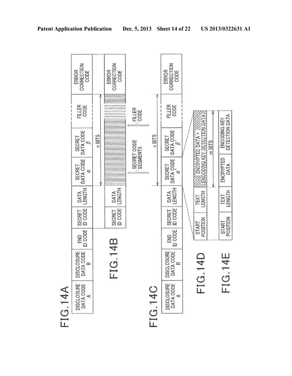 METHOD FOR PRODUCING TWO-DIMENSIONAL CODE AND READER FOR READING THE     TWO-DIMENSIONAL CODE - diagram, schematic, and image 15