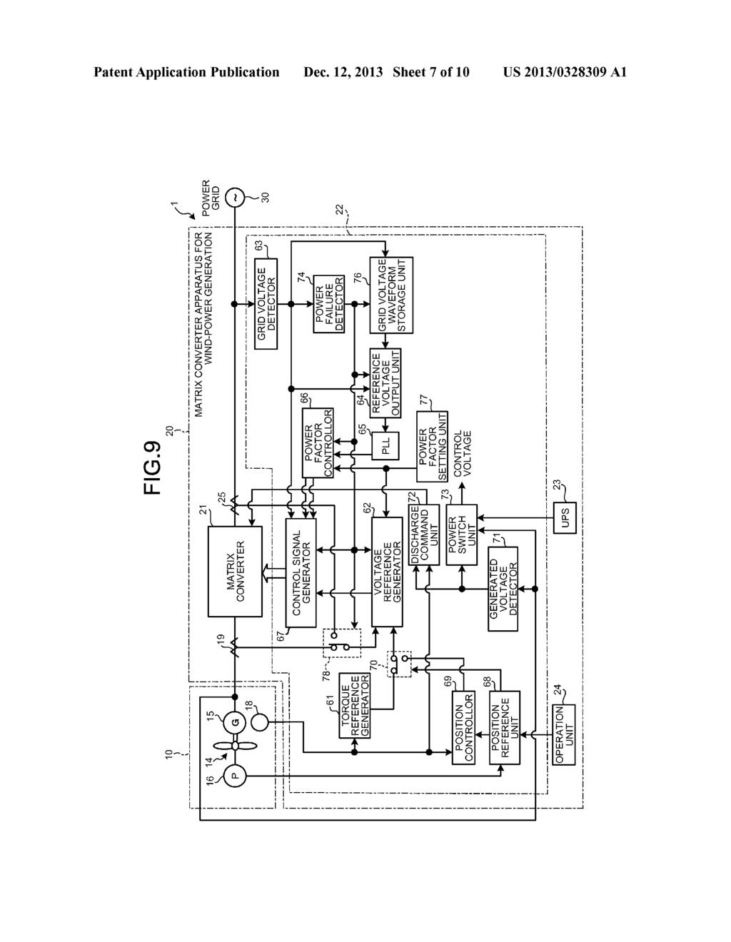 Matrix Converter Apparatus For Wind Power Generation Method Windpowerdiagrampng Controlling Generator Farm And