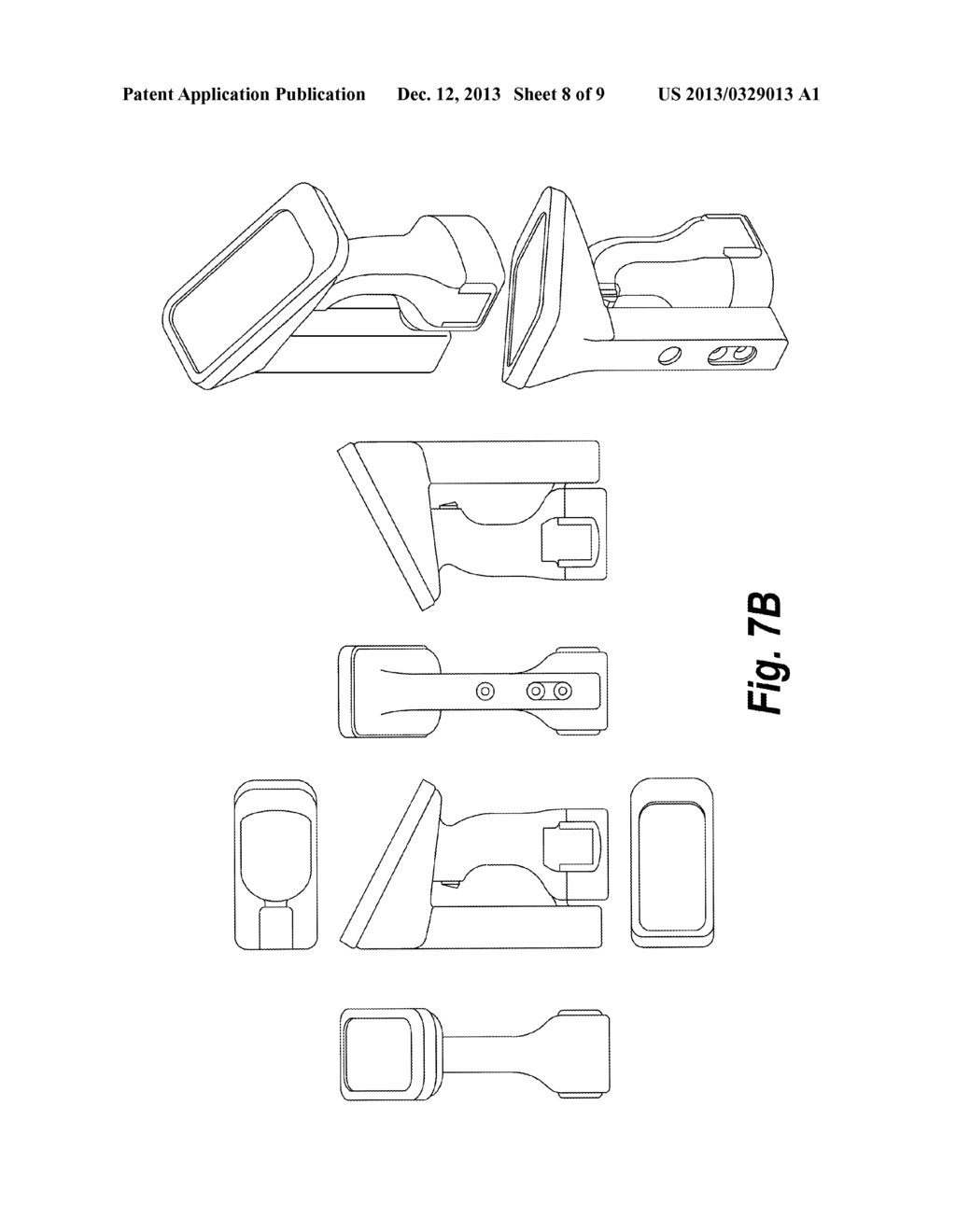 HAND HELD DIMENSION CAPTURE APPARATUS, SYSTEM AND METHOD - diagram, schematic, and image 09