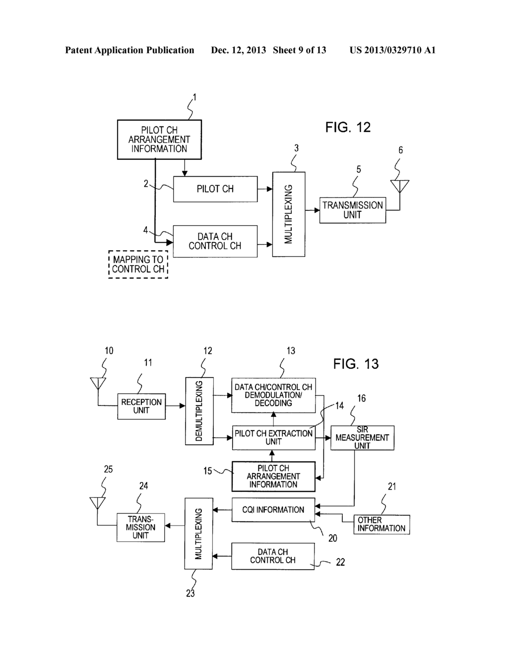 Pilot Arrangement Method In Mobile Radio Communication System And Fmtransmittercircuitdiagrampng Transmitter Receiver Adopting Same Diagram Schematic Image 10
