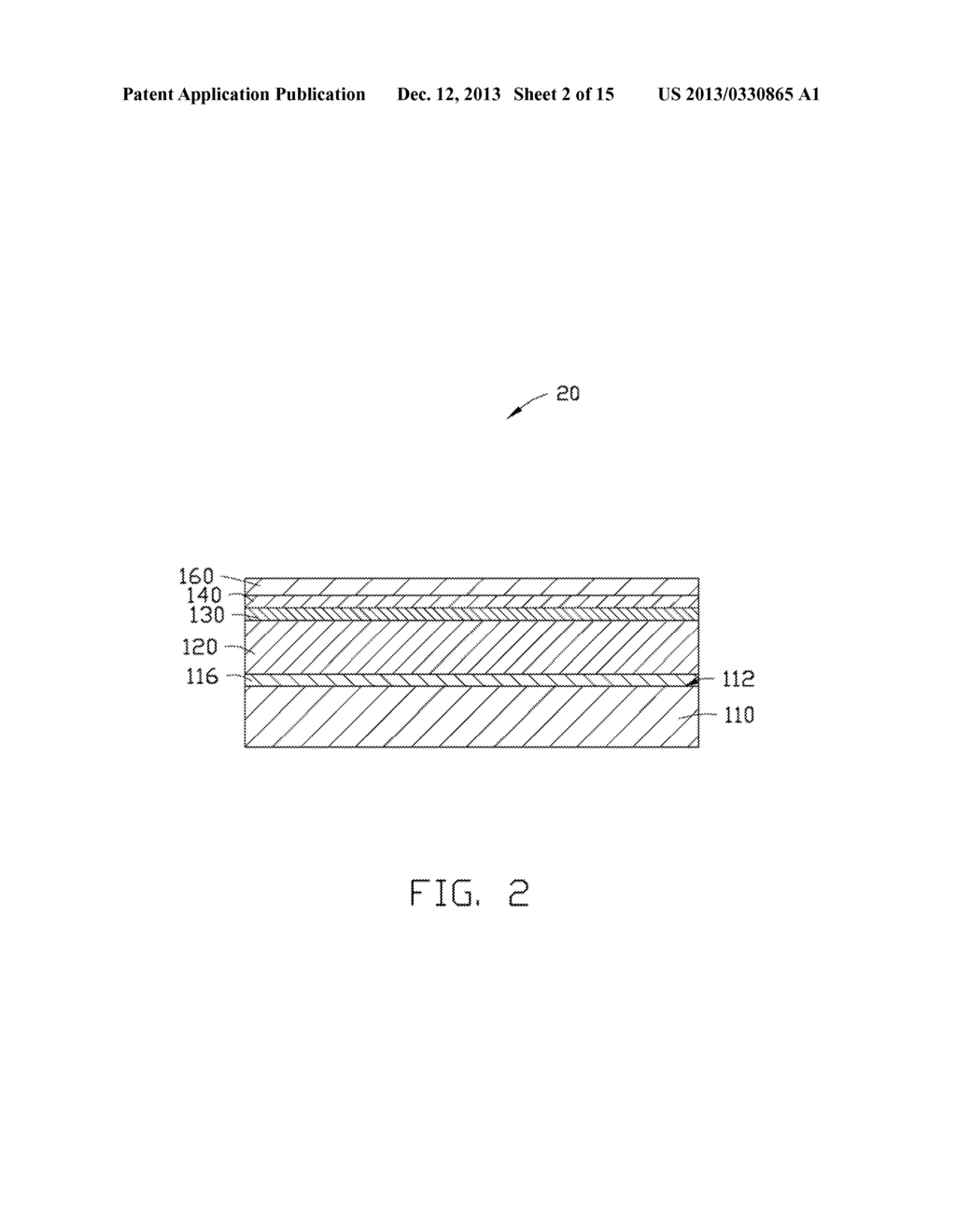 METHOD FOR MAKING LIGHT EMITTING DIODE - diagram, schematic, and image 03