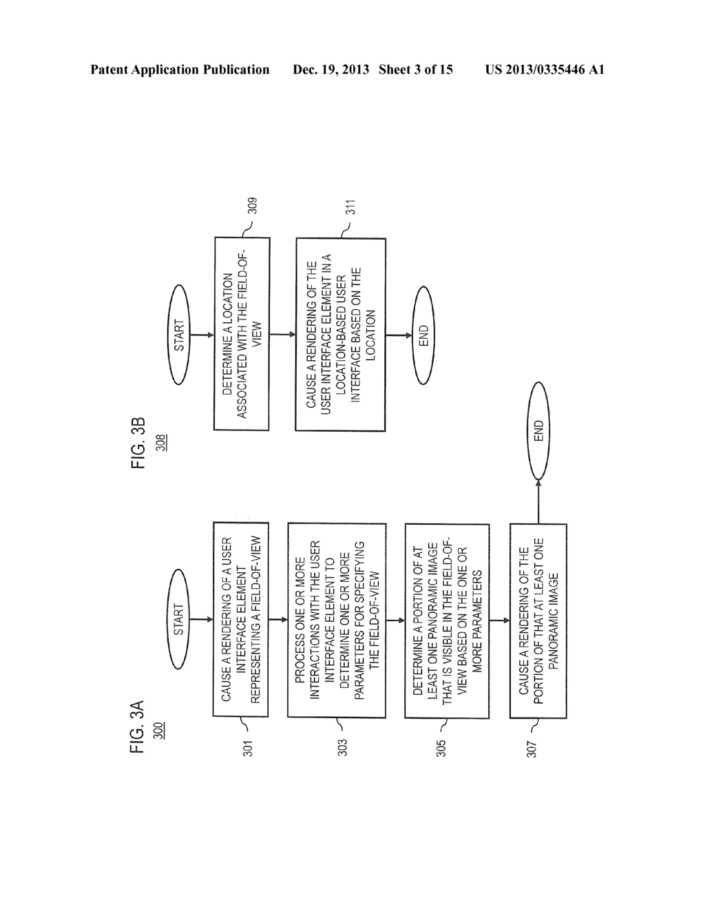 METHOD AND APPARATUS FOR CONVEYING LOCATION BASED IMAGES BASED ON A     FIELD-OF-VIEW - diagram, schematic, and image 04