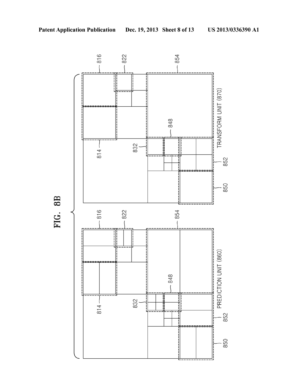 METHOD AND APPARATUS FOR ENCODING AND DECODING IMAGE BY USING LARGE     TRANSFORMATION UNIT - diagram, schematic, and image 09