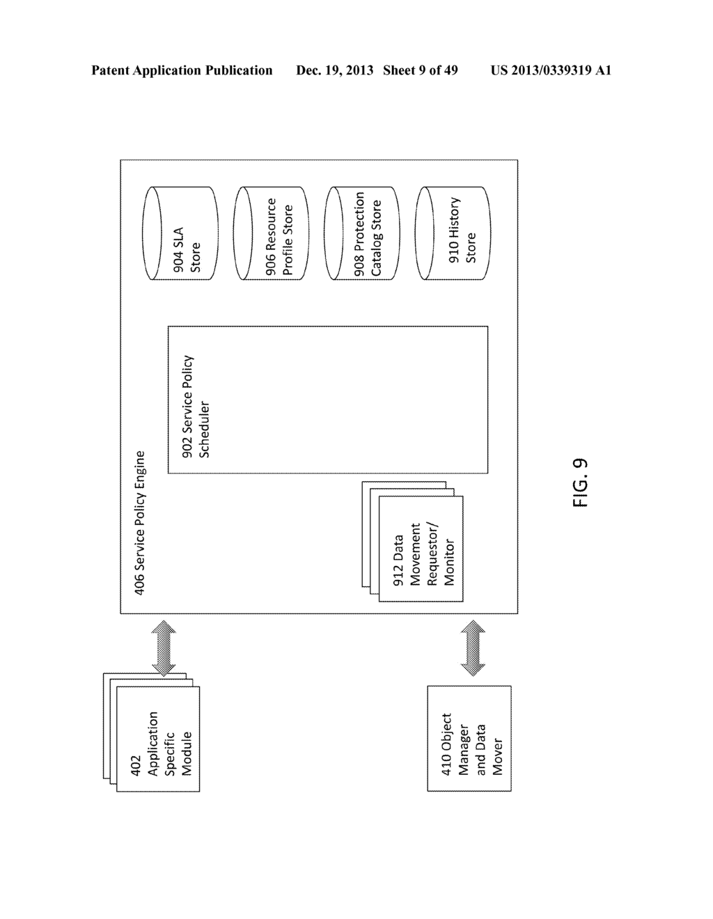 SYSTEM AND METHOD FOR CACHING HASHES FOR CO-LOCATED DATA IN A     DEDUPLICATION DATA STORE - diagram, schematic, and image 10