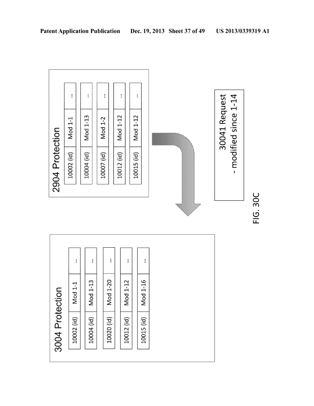 SYSTEM AND METHOD FOR CACHING HASHES FOR CO-LOCATED DATA IN A     DEDUPLICATION DATA STORE - diagram, schematic, and image 38