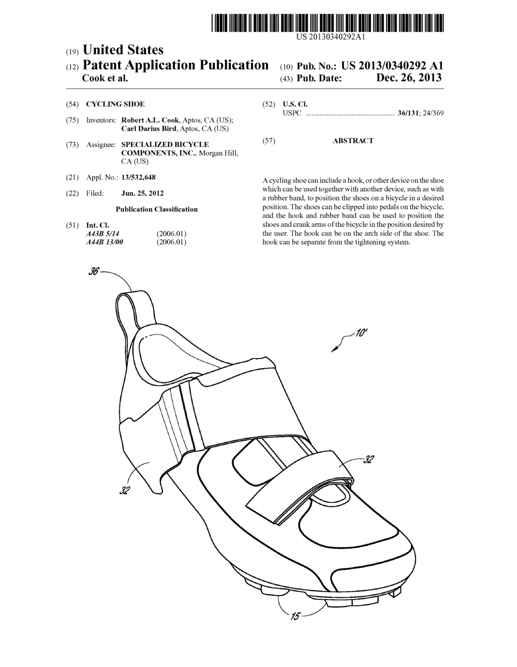 Cycling shoe diagram schematic and image 01 pooptronica