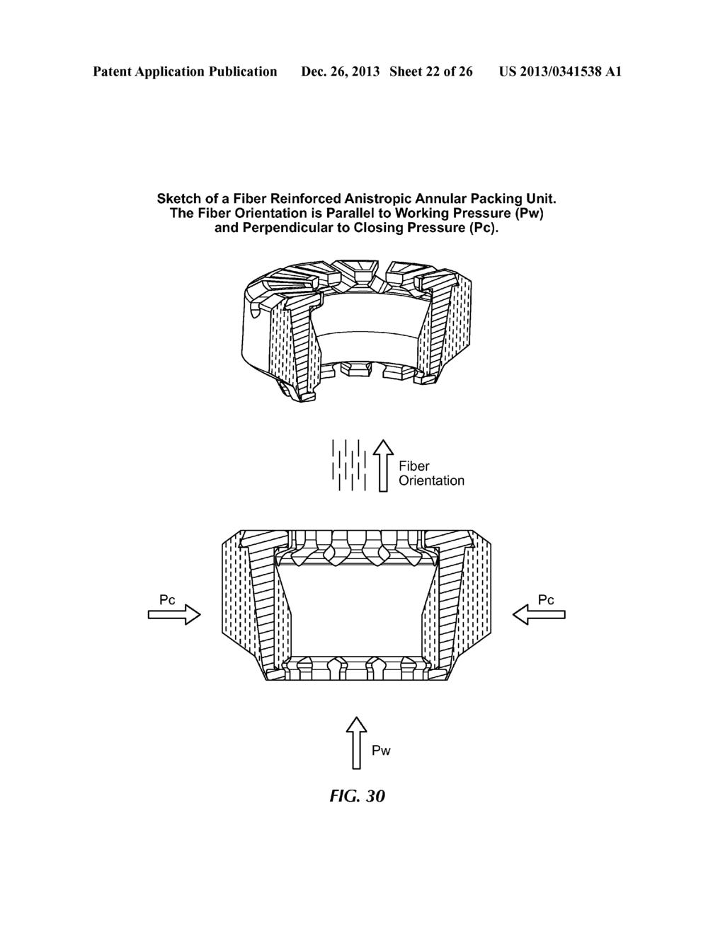fiber reinforced elastomer anisotropic annular blowout preventer Cameron BOP Stack Diagram fiber reinforced elastomer anisotropic annular blowout preventer diagram schematic and image 23