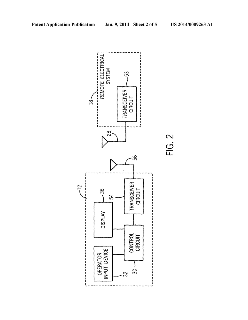 SYSTEM AND METHOD FOR PROVIDING AN IN-VEHICLE TRANSMITTER HAVING     MULTI-COLORED LED - diagram, schematic, and image 03
