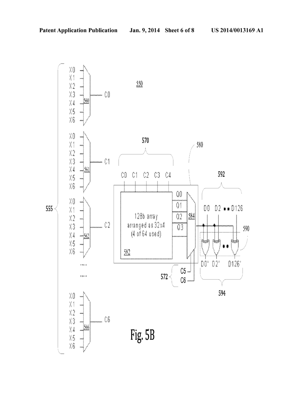GENERIC ADDRESS SCRAMBLER FOR MEMORY CIRCUIT TEST ENGINE - diagram,  schematic, and image 07