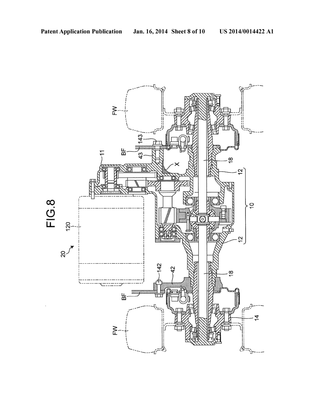 [GJFJ_338]  ELECTRIC FORKLIFT - diagram, schematic, and image 09 | Forklift Schematic |  | Patents