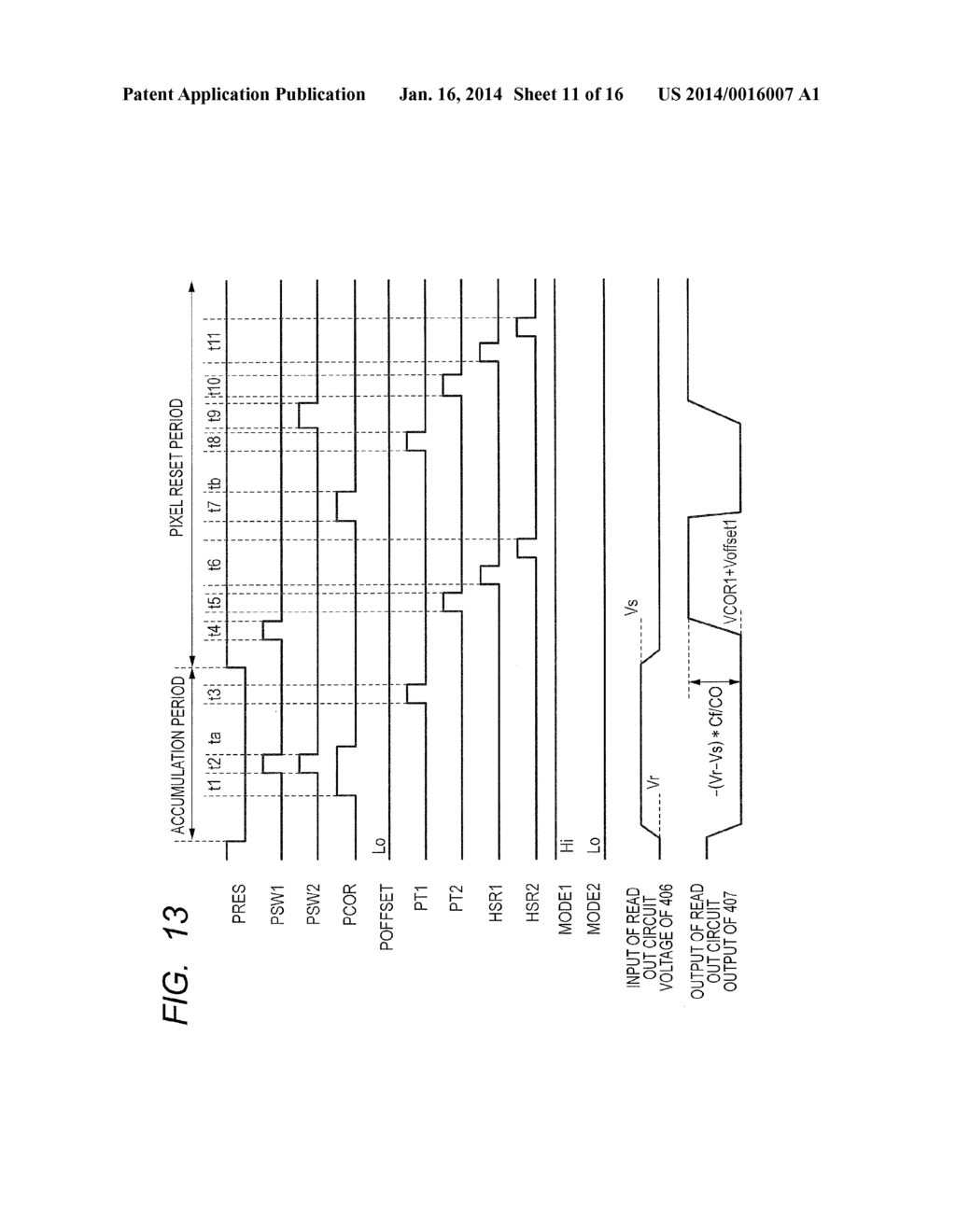 READOUT CIRCUIT, SOLID-STATE IMAGING APPARATUS, AND METHOD FOR DRIVING     READOUT CIRCUIT - diagram, schematic, and image 12