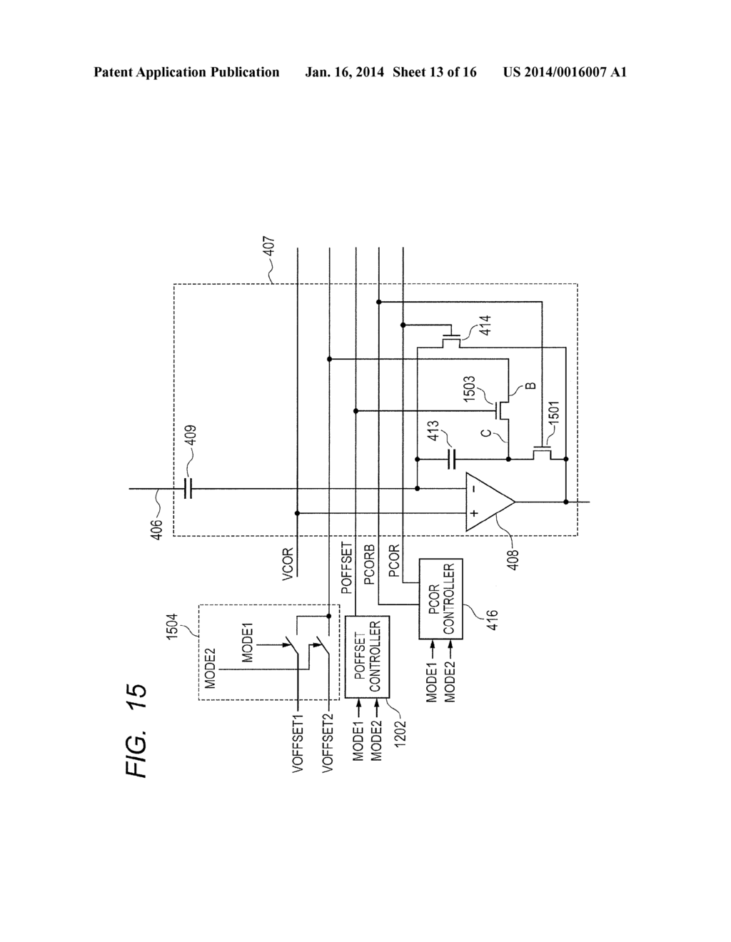 READOUT CIRCUIT, SOLID-STATE IMAGING APPARATUS, AND METHOD FOR DRIVING     READOUT CIRCUIT - diagram, schematic, and image 14