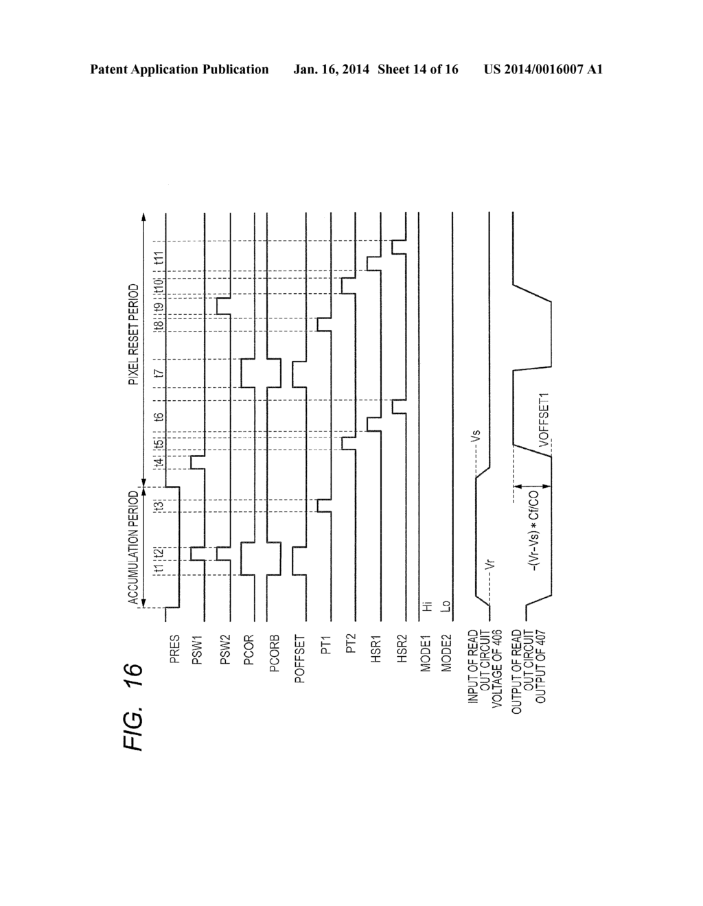 READOUT CIRCUIT, SOLID-STATE IMAGING APPARATUS, AND METHOD FOR DRIVING     READOUT CIRCUIT - diagram, schematic, and image 15
