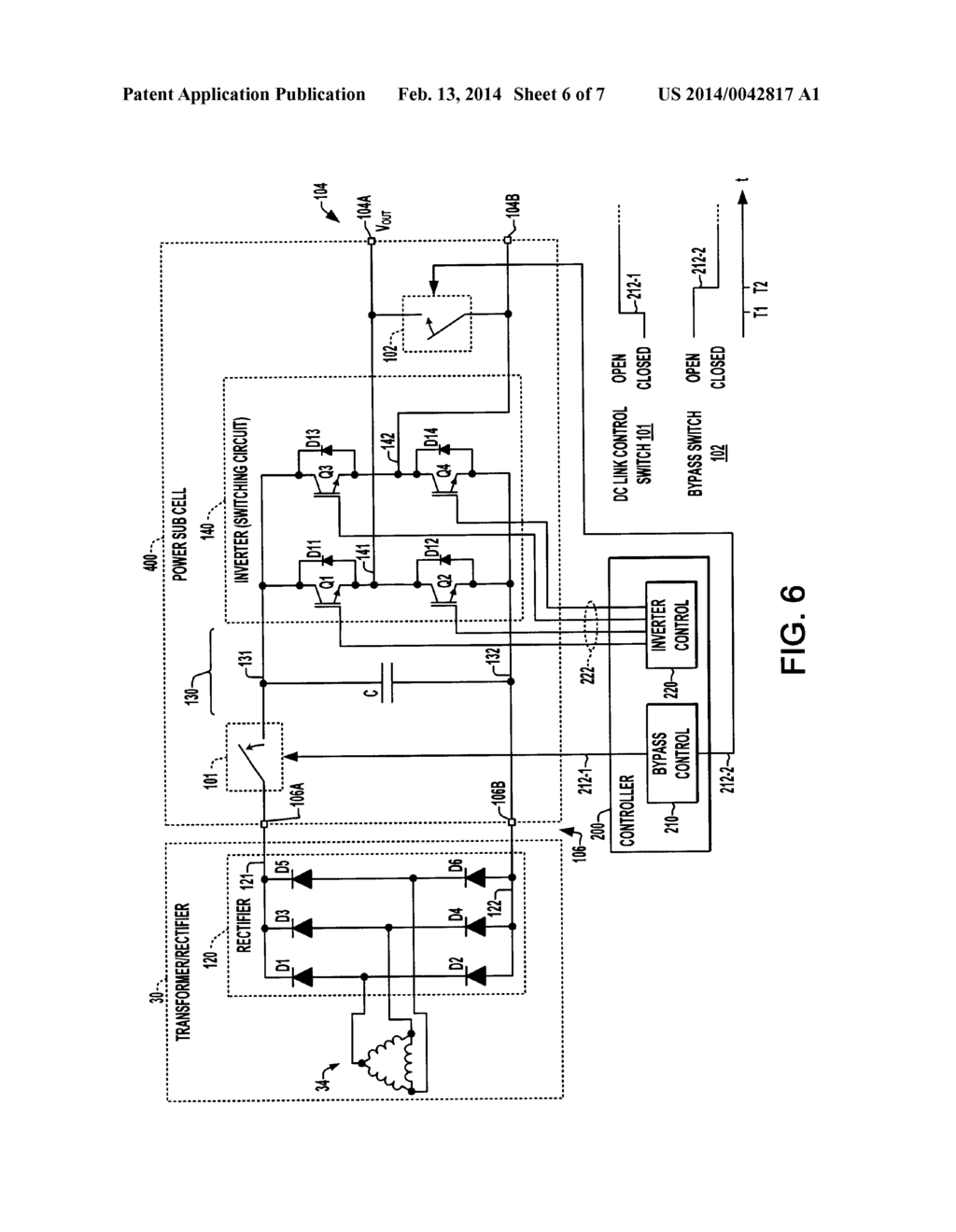 Method And Apparatus For Bypassing Cascaded H Bridge Chb Power Inverter Circuit Diagram Cells Sub Cell Multilevel Schematic Image 07