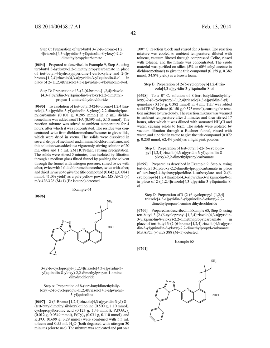 TRIAZOLOPYRIDINE COMPOUNDS AS PIM KINASE INHIBITORS - diagram, schematic, and image 52