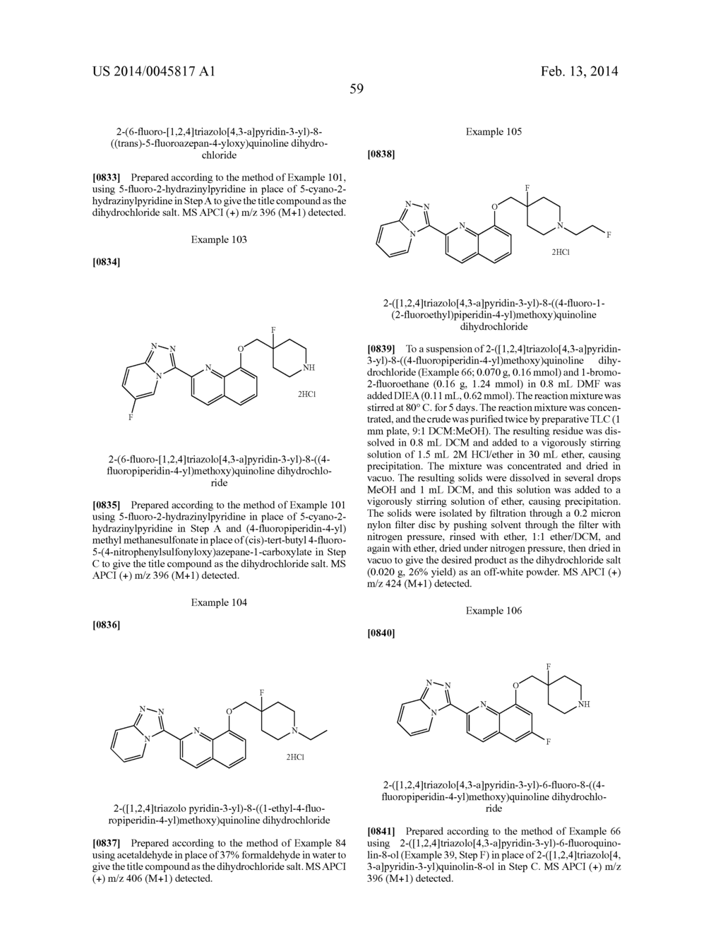 TRIAZOLOPYRIDINE COMPOUNDS AS PIM KINASE INHIBITORS - diagram, schematic, and image 69