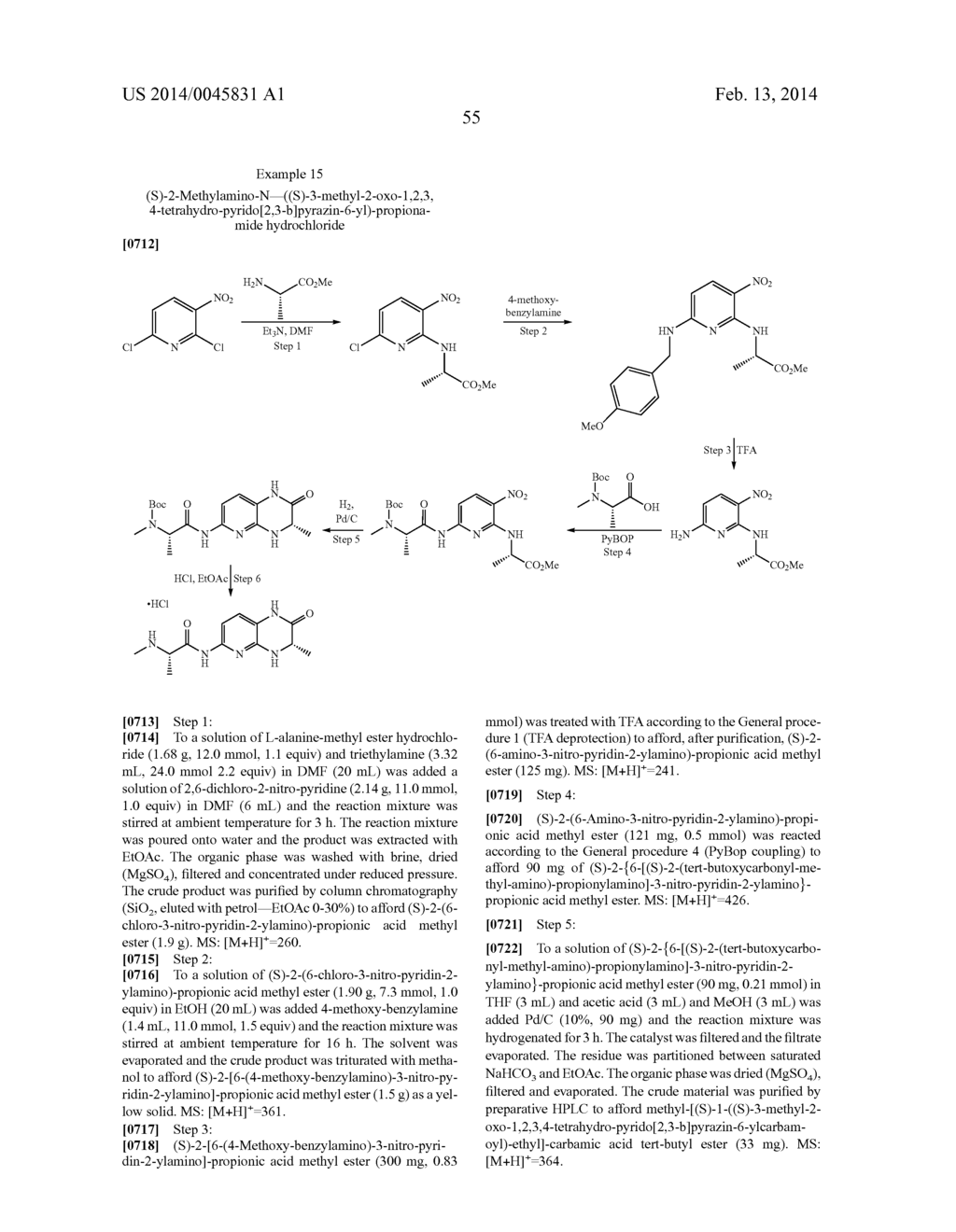 BICYCLIC HETEROCYCLE COMPOUNDS AND THEIR USES IN THERAPY - diagram, schematic, and image 56