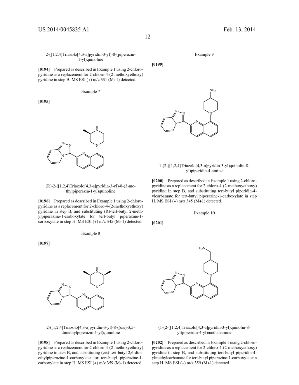 TRIAZOLOPYRIDINE COMPOUNDS AS PIM KINASE INHIBITORS - diagram, schematic, and image 13