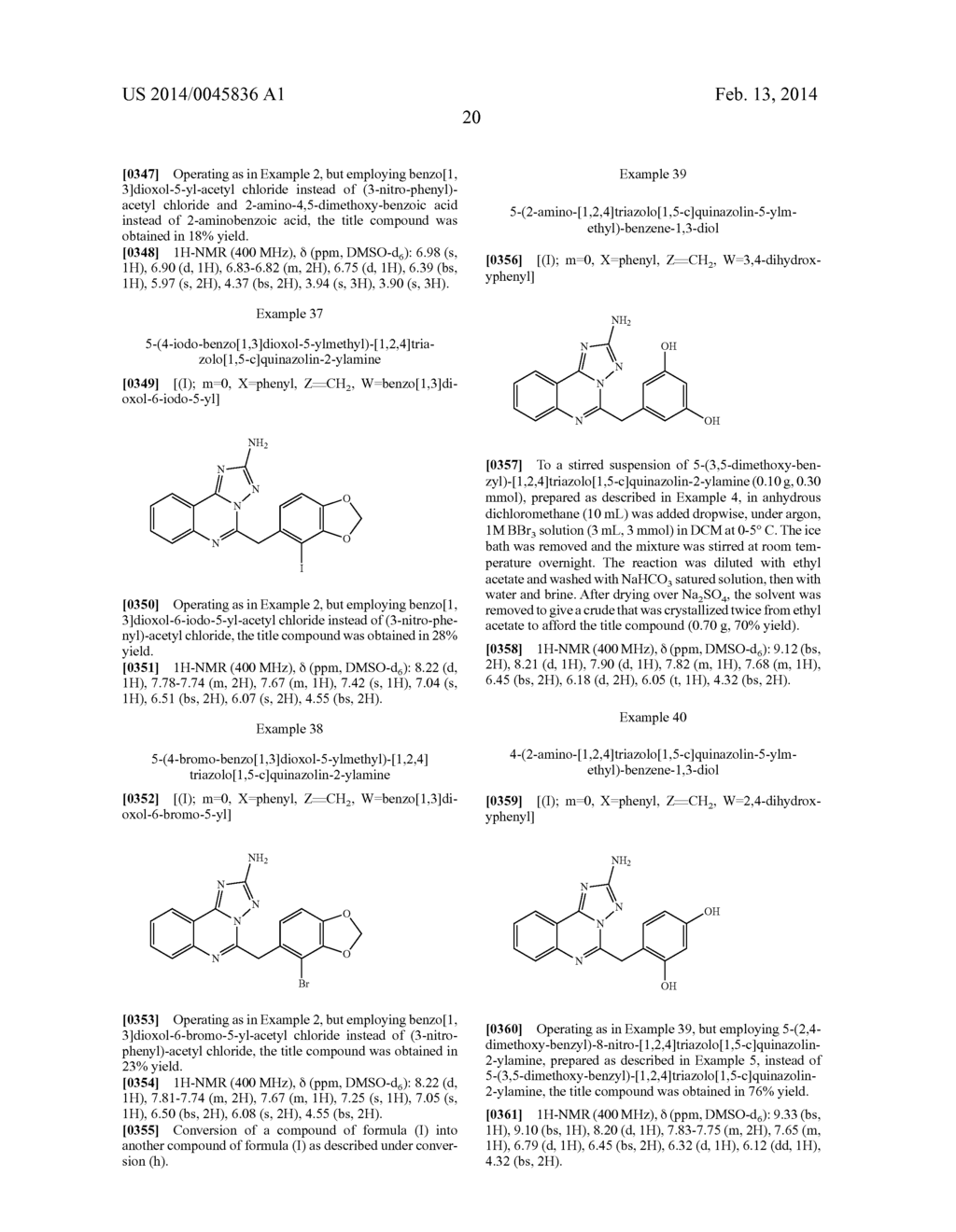 [1,2,4]TRIAZOLO[1,5-C]PYRIMIDINE DERIVATIVES AS HSP90 MODULATORS - diagram, schematic, and image 21