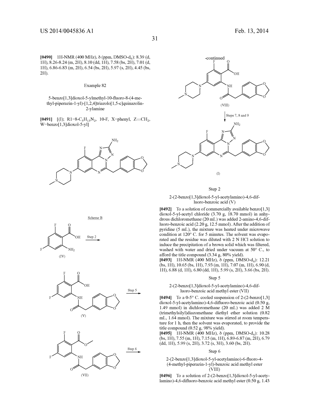 [1,2,4]TRIAZOLO[1,5-C]PYRIMIDINE DERIVATIVES AS HSP90 MODULATORS - diagram, schematic, and image 32