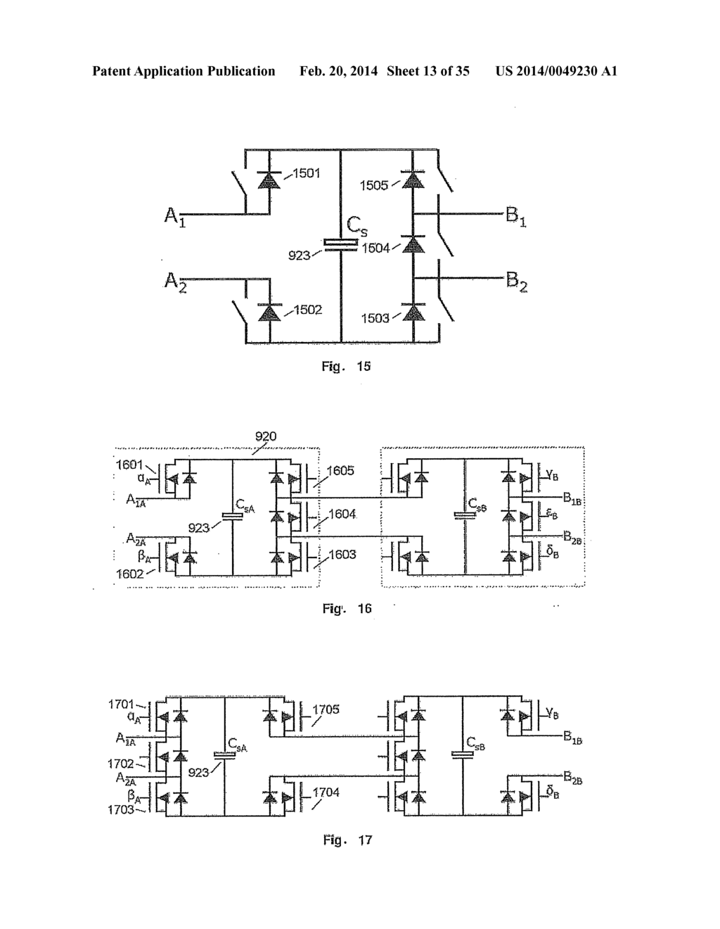 NOVEL MULTI-LEVEL CONVERTER TOPOLOGY WITH THE POSSIBILITY OF DYNAMICALLY     CONNECTING INDIVIDUAL MODULES IN SERIES AND IN PARALLEL - diagram, schematic, and image 14