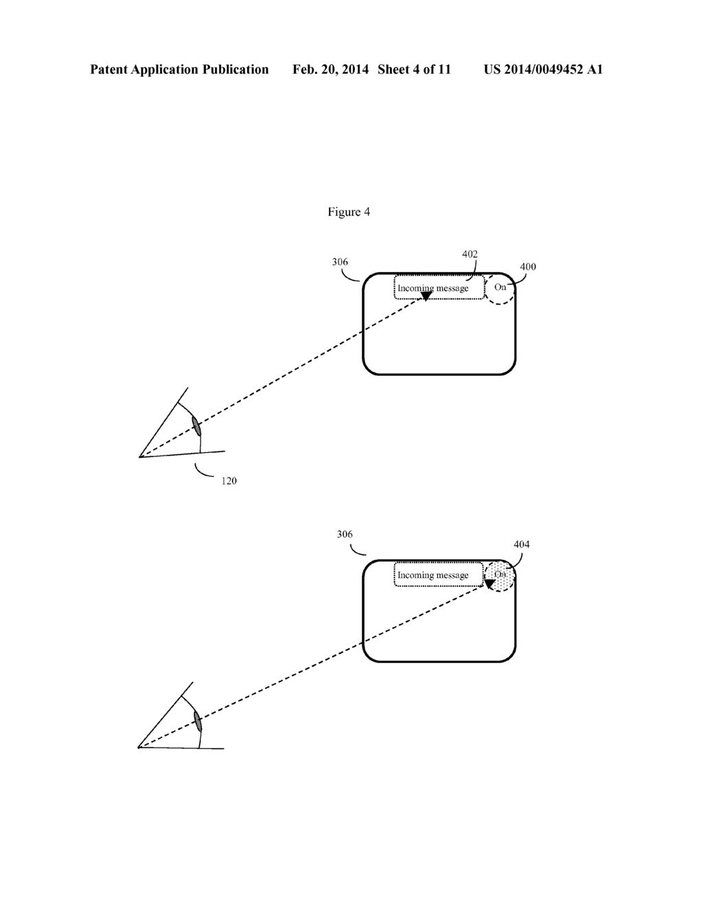 EYE GAZE USER INTERFACE AND CALIBRATION METHOD - diagram, schematic, and image 05