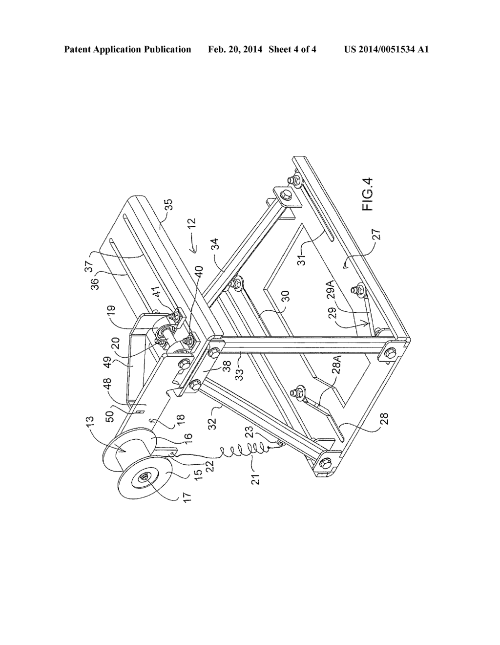 Belt Tensioner For A Pump Jack Diagram Schematic And Image 05