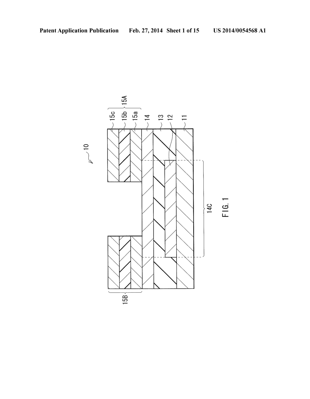 SEMICONDUCTOR DEVICE, METHOD OF MANUFACTURING THE SAME, AND ELECTRONIC     APPARATUS - diagram, schematic, and image 02