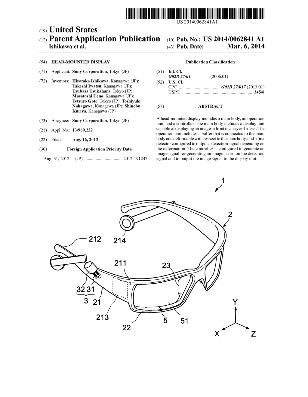 HEAD-MOUNTED DISPLAY - diagram, schematic, and image 01