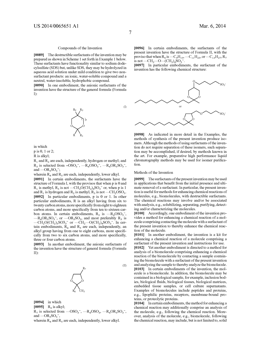 DESTRUCTIBLE SURFACTANTS AND USES THEREOF - diagram, schematic, and image 21
