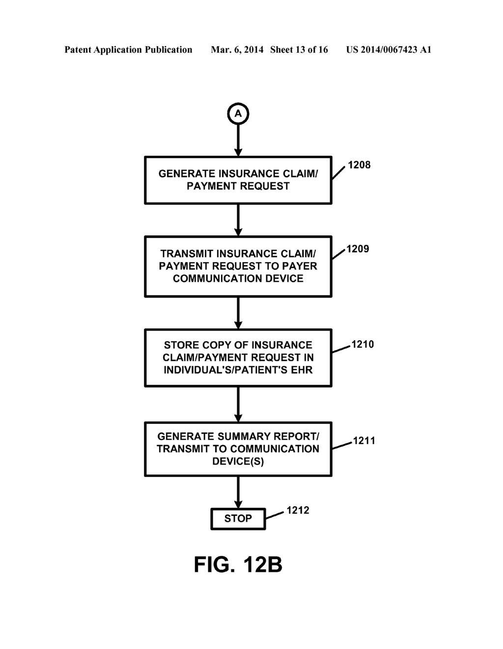 APPARATUS AND METHOD FOR PROCESSING AND/OR PROVIDING HEALTHCARE     INFORMATION AND/OR HEALTHCARE-RELATED INFORMATION WITH OR USING AN     ELECTRONIC HEALTHCARE RECORD OR ELECTRONIC HEALTHCARE RECORDS - diagram, schematic, and image 14