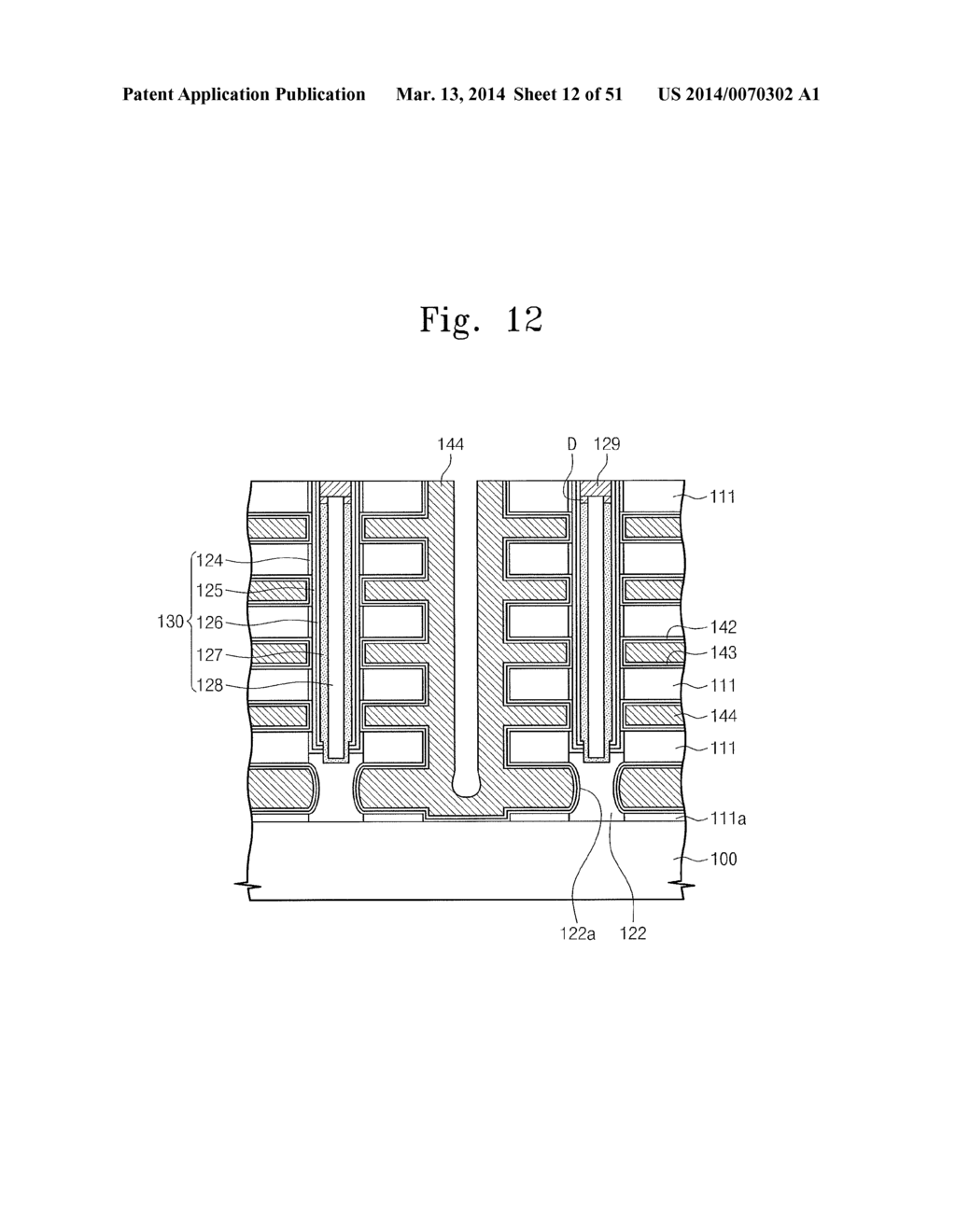 THREE-DIMENSIONAL SEMICONDUCTOR MEMORY DEVICE AND METHOD FOR FABRICATING     THE SAME - diagram, schematic, and image 13