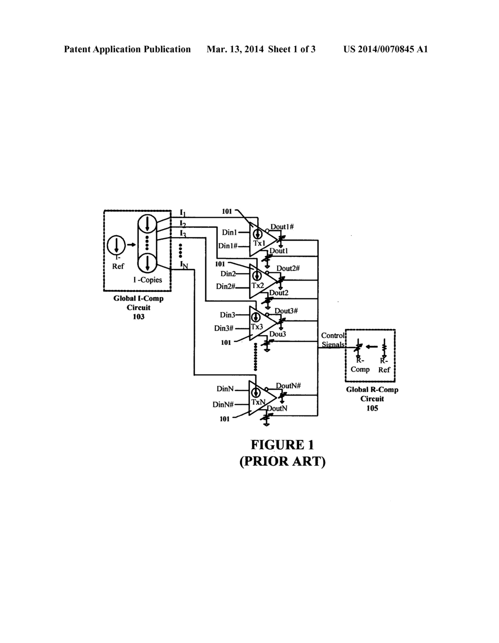 TRANSMITTER SWING CONTROL CIRCUIT AND METHOD - diagram, schematic, and image 02