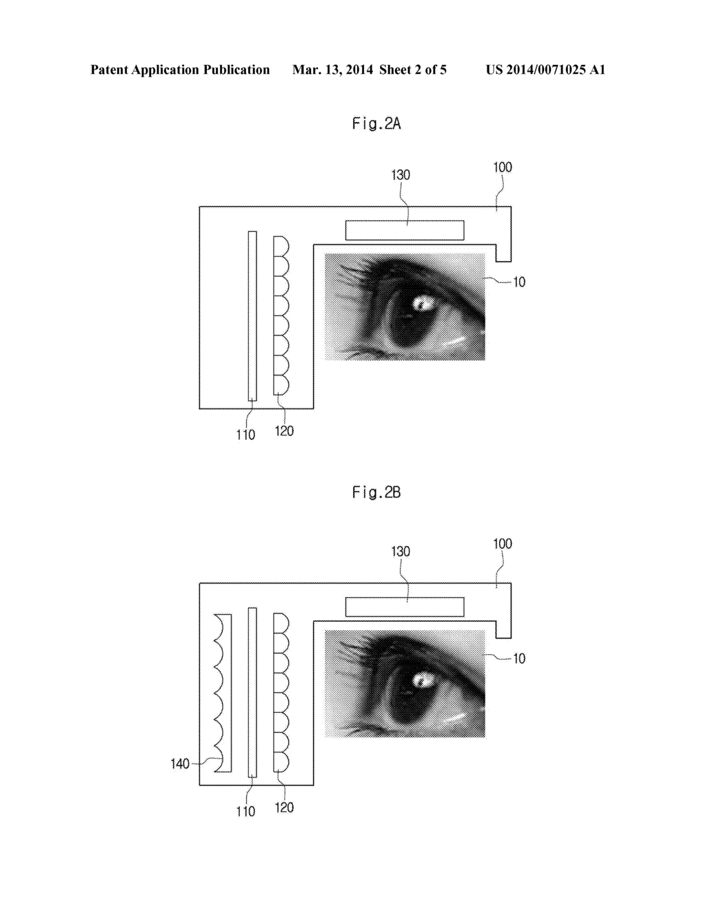 HEAD MOUNTED DISPLAY AND METHOD FOR DISPLAYING CONTENTS USING THE SAME - diagram, schematic, and image 03