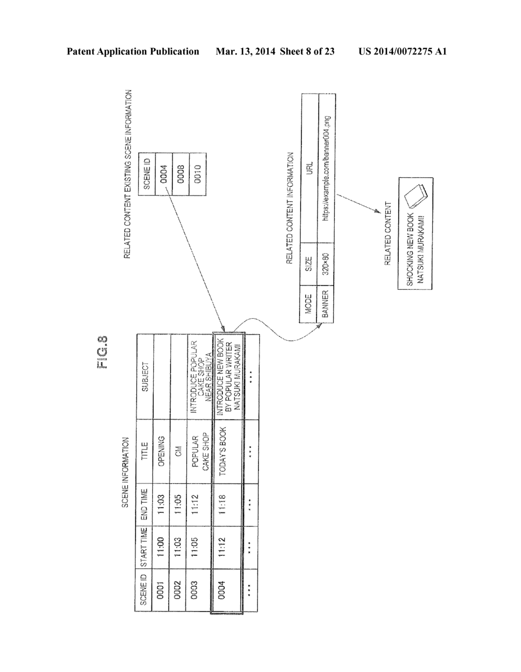DISPLAY CONTROL DEVICE, RECORDING CONTROL DEVICE, AND DISPLAY CONTROL     METHOD - diagram, schematic, and image 09