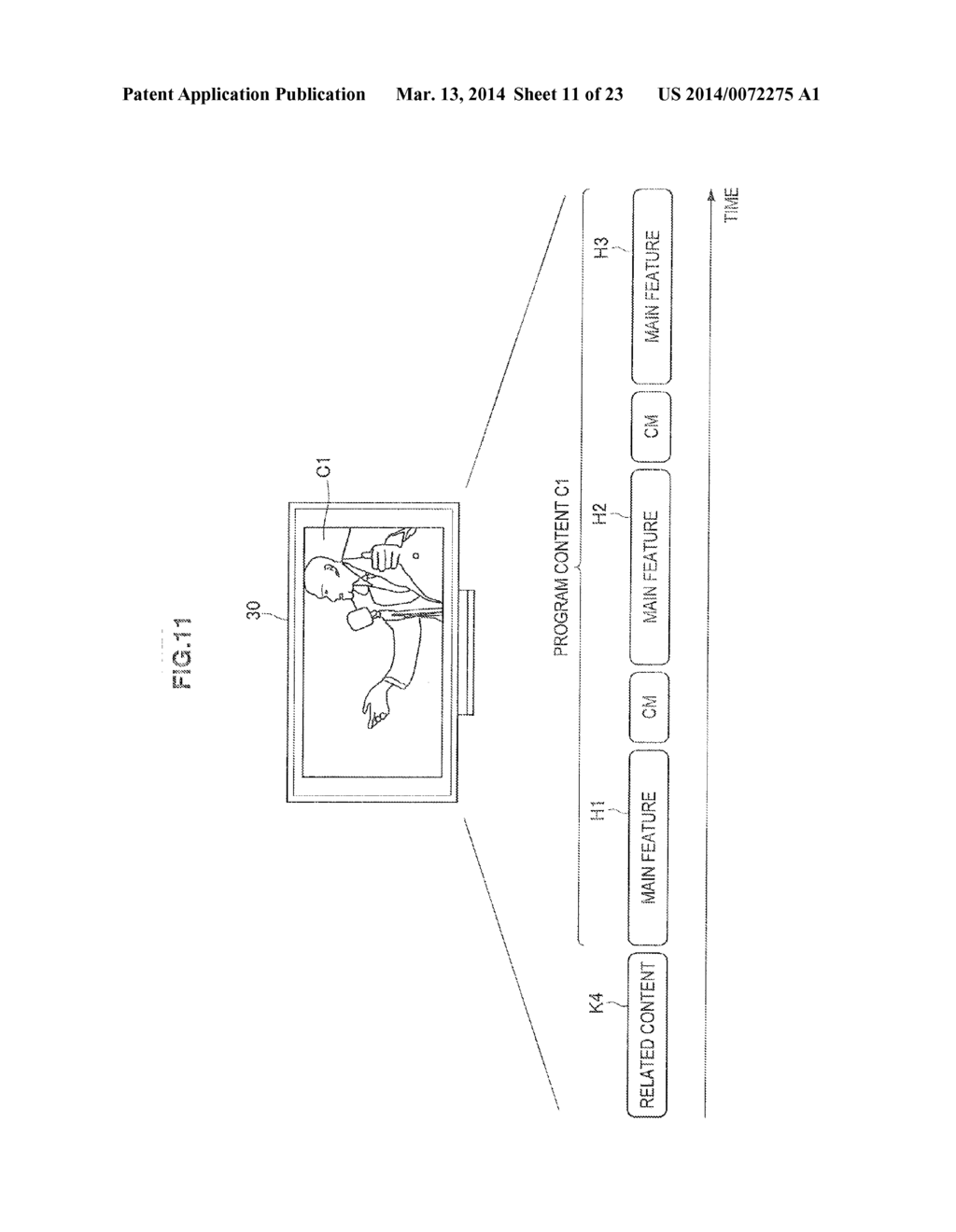 DISPLAY CONTROL DEVICE, RECORDING CONTROL DEVICE, AND DISPLAY CONTROL     METHOD - diagram, schematic, and image 12