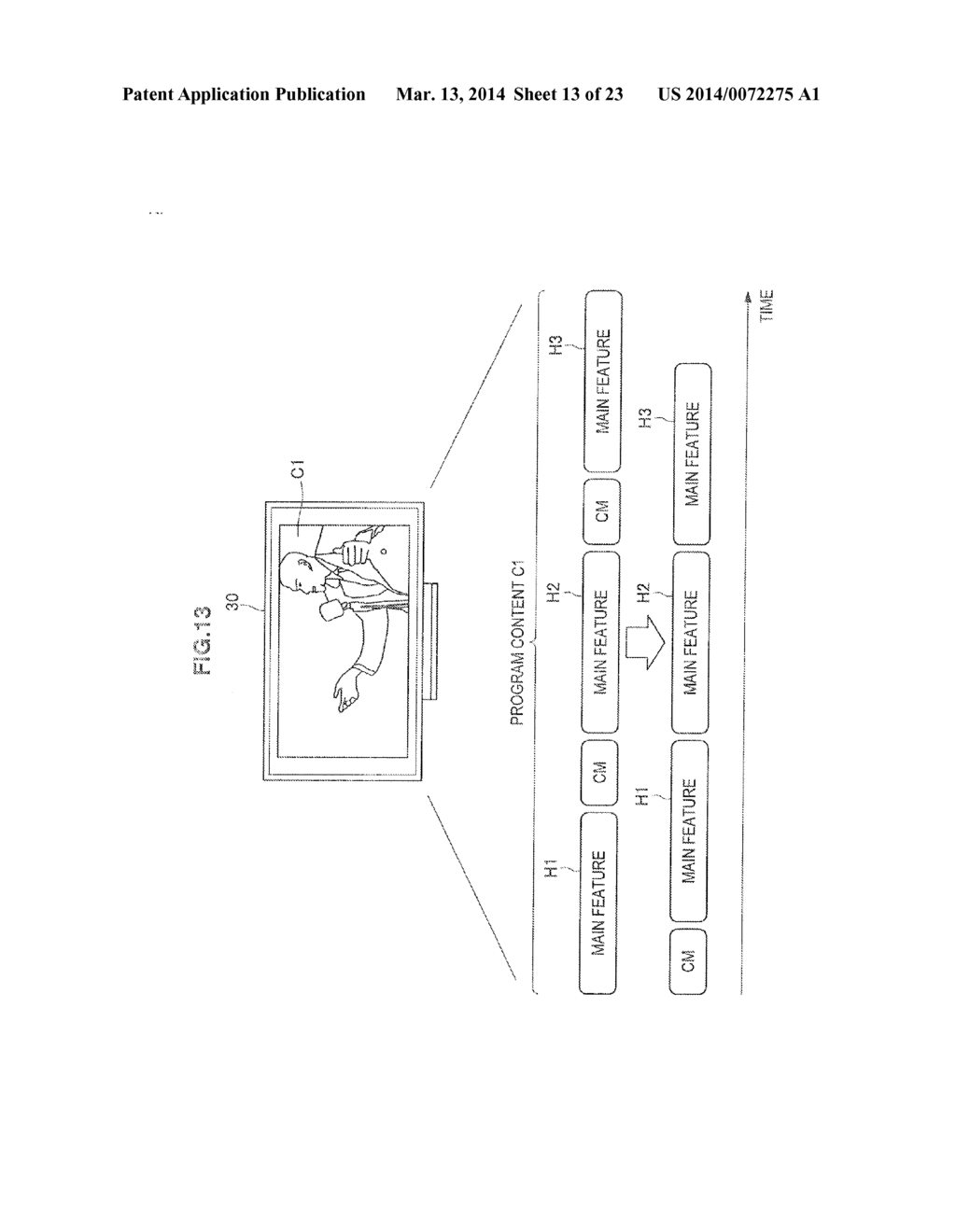 DISPLAY CONTROL DEVICE, RECORDING CONTROL DEVICE, AND DISPLAY CONTROL     METHOD - diagram, schematic, and image 14