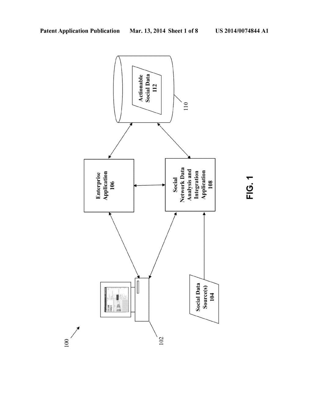 METHOD AND SYSTEM FOR IMPLEMENTING SEMANTIC ANALYSIS OF INTERNAL SOCIAL     NETWORK CONTENT - diagram, schematic, and image 02
