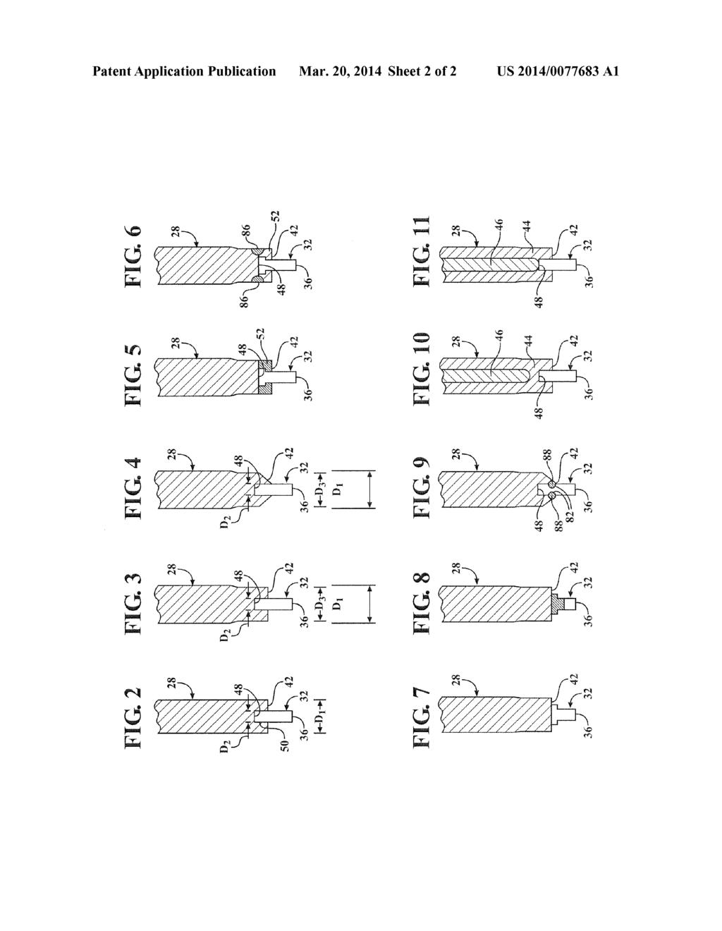spark plug with ceramic electrode tip diagram, schematic, and image 03 Champion Spark Plug Parts Diagram