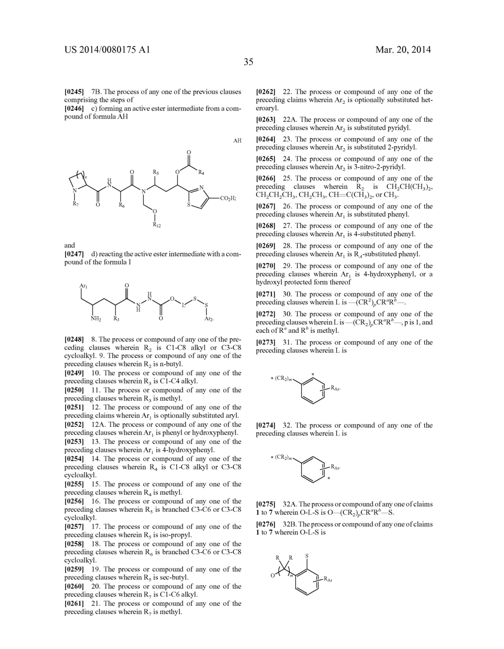 PROCESSES FOR PREPARING TUBULYSIN DERIVATIVES AND CONJUGATES THEREOF - diagram, schematic, and image 36