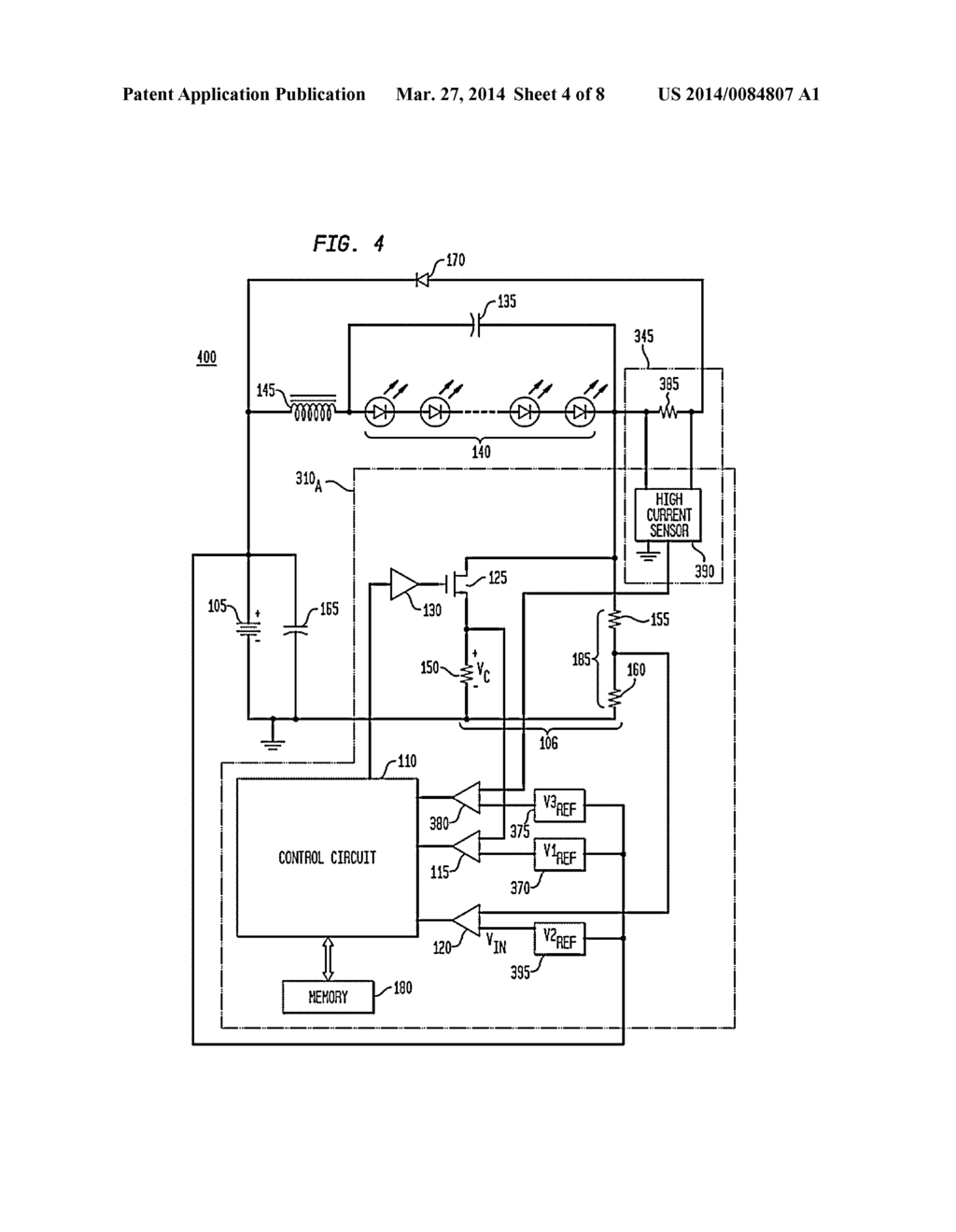 Digitally Controlled Current Regulator For High Power Solid State Lighting Diagram Schematic And Image 05